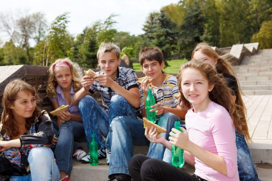 summer camp kids lunch